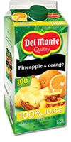 DEL MONTE Pineapple & Orange Juice