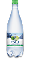 ESKA Sparkling Natural Spring Water - Lime