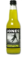 JONES SODA Pineapple Cream Soda
