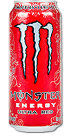 MONSTER Energy - Ultra Red