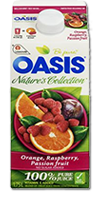 OASIS Nature's Collection - Orange Raspberry Passion Fruit