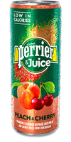 PERRIER & Juice - Peach & Cherry
