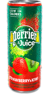 PERRIER & Juice - Strawberry & Kiwi