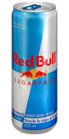 RED BULL Energy Drink - Sugar Free