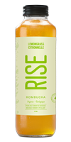 RISE Kombucha - Lemongrass Green Tea