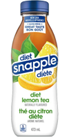 SNAPPLE Lemon Iced Tea - Diet