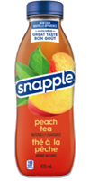 SNAPPLE Peach Iced Tea