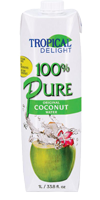 TROPICAL DELIGHT 100% Pure Coconut Water