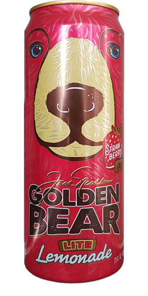 GOLDEN BEAR Strawberry Lemonade - Lite