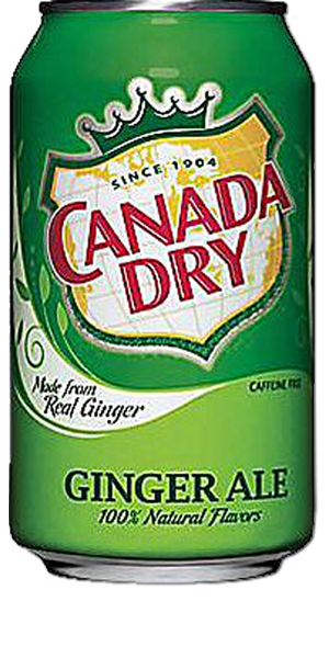 CANADA DRY Ginger Ale - Click Image to Close