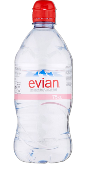 8fe5fef53d EVIAN Natural Spring Water (Sport Cap) - 12 x 750ml Plastic Delivery in  Toronto