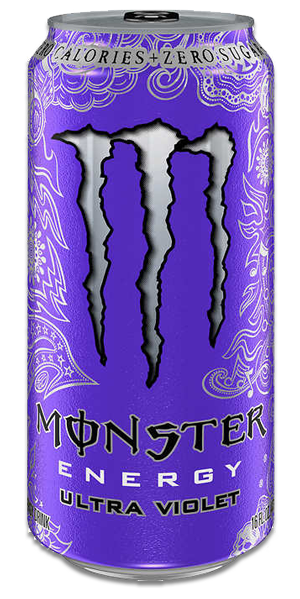 MONSTER Energy - Ultra Violet - Click Image to Close
