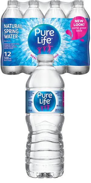 2ae0e1354f NESTLE Pure Life Natural Spring Water - 12 x 500ml Plastic Delivery in  Toronto