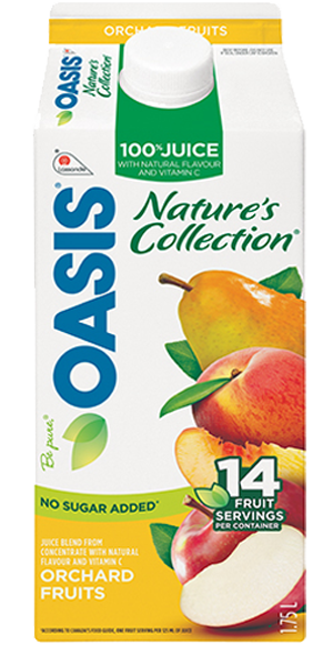 OASIS Nature's Collection - Orchard Fruits - Click Image to Close