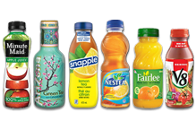Juice/Tea/Coctails/Nectars Small - Plastic